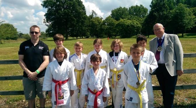 Basingstoke and Deane U12 Team win the Hampshire Games
