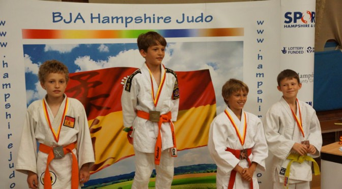 Medals for Summit Judo Players at Hampshire Open 2014
